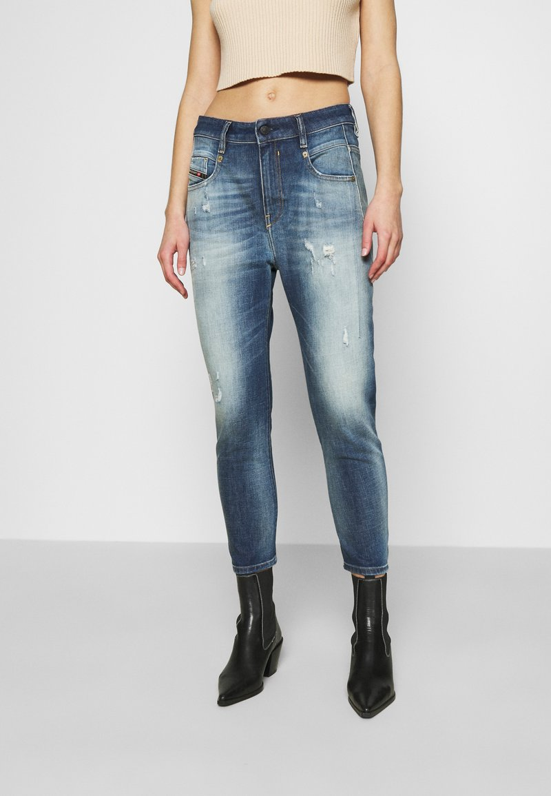 Diesel - FAYZA - Relaxed fit jeans - indigo