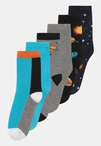 Name it - NKMKACE 6 PACK - Socks - black - 0