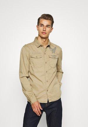 Shirt - army beige