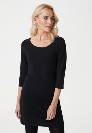 MANDY - Korte jurk - black