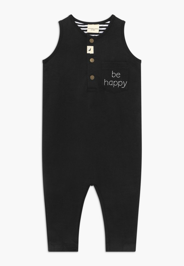 BE HAPPY TANK DUNGAREE BABY - Overall / Jumpsuit /Buksedragter - black