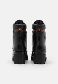 Panama Jack - PHOEBE BROOKLYN - Kotníkové boty na platformě - black - 3