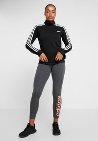 adidas Performance - Sweatshirt - black/white - 1