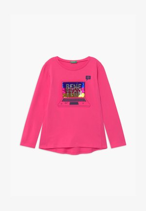 FUNZIONE GIRL - Long sleeved top - pink