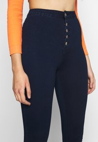 Missguided Tall - VICE BUTTON UP - Jeans Skinny - blue - 4