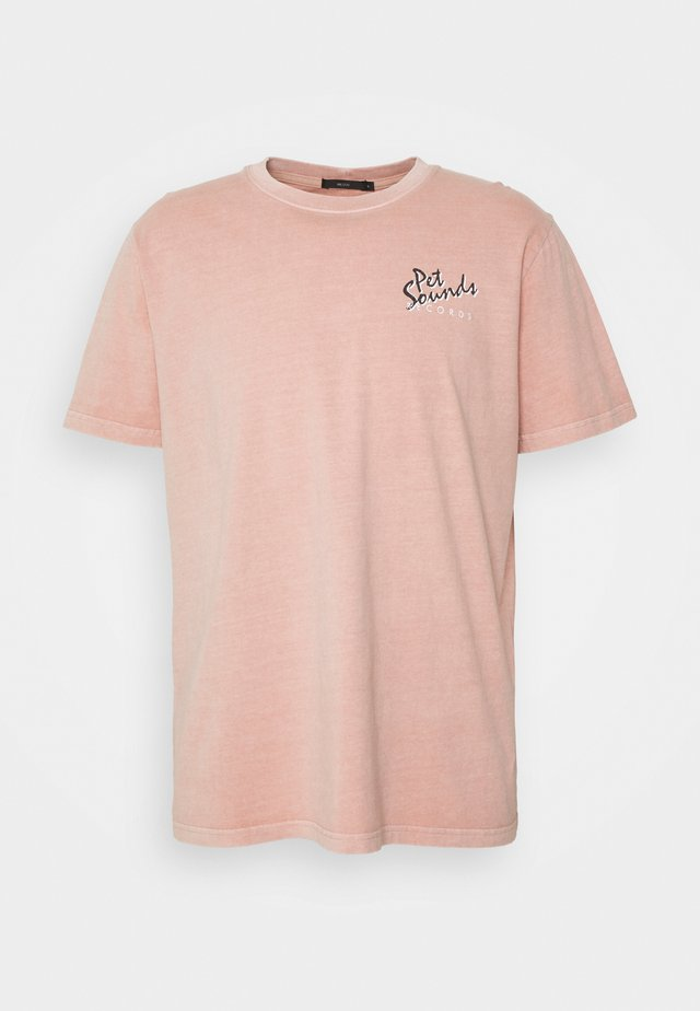 PET SOUNDS BAND TEE - T-shirt print - peach