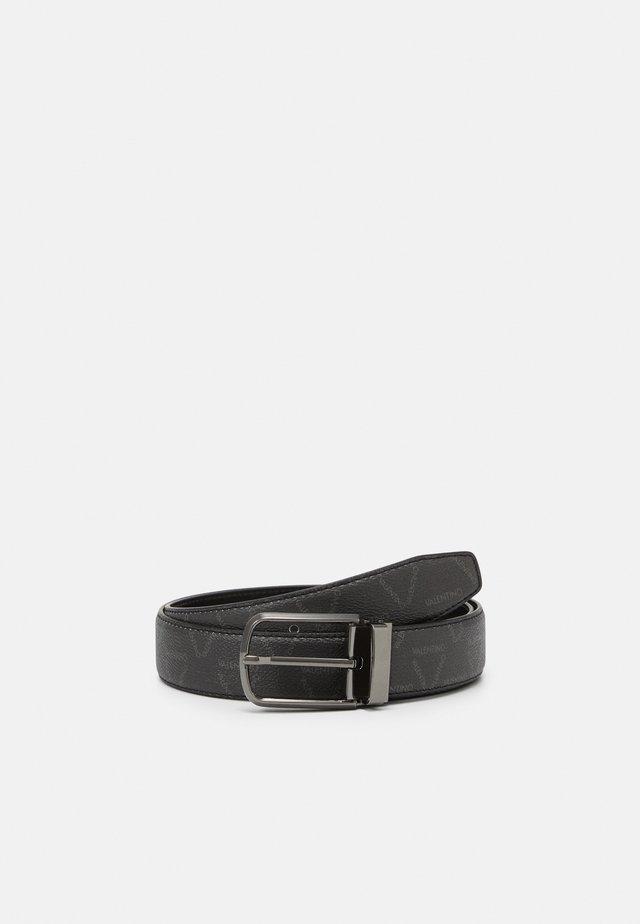 LIUTO BELT - Belt - nero/nero