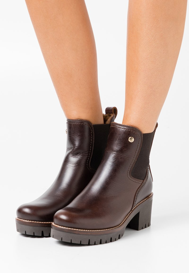 Panama Jack - PIA IGLOO BROOKLYN - Kotníkové boty na platformě - marron/brown