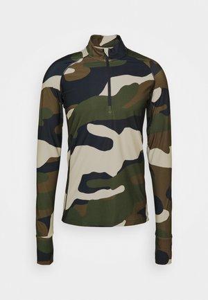 ALGI MIDLAYER - Fleece jumper - olive