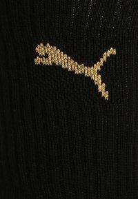 Puma - SPORT 6 PACK UNISEX - Sports socks - black/gold - 1