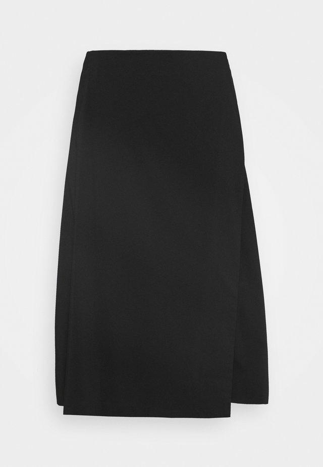 STELLA SKIRT - Jupe trapèze - black
