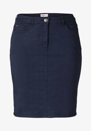 Denim skirt - marine