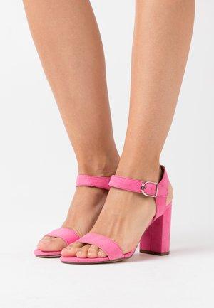 VIMS - Højhælede sandaletter / Højhælede sandaler - bright pink