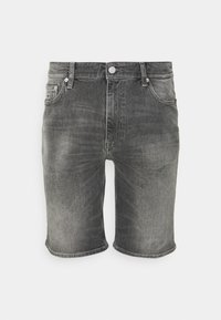 Tommy Jeans - DAD - Jeansshorts - tova grey - 0