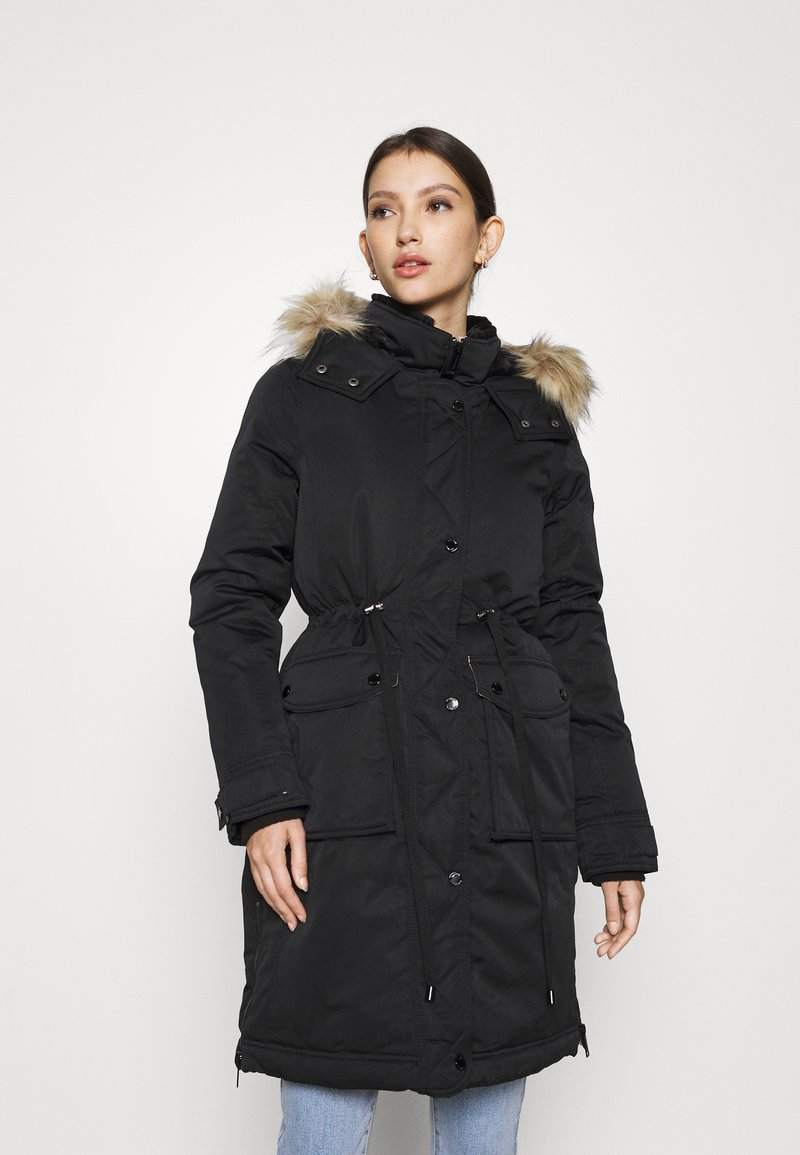 Hollister Co. - ELEVATED DOWN PARKA  - Down coat - black