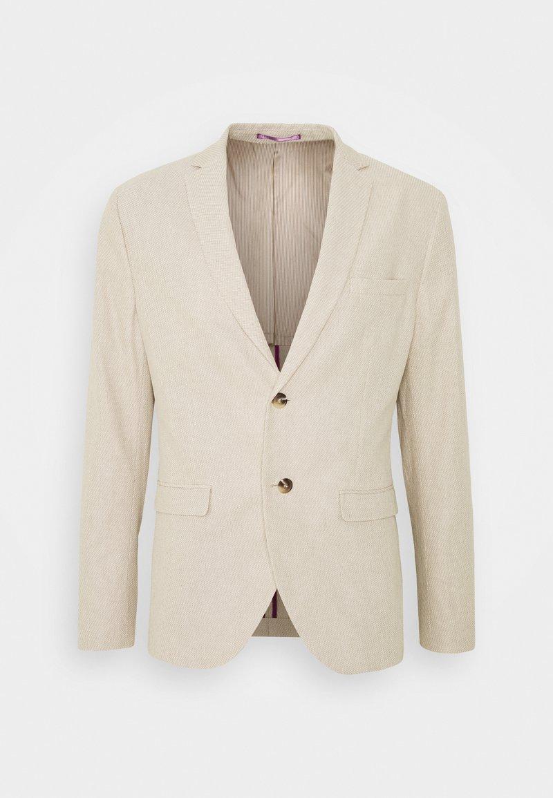 Selected Homme - SLHSLIM WILL - Blazer jacket - sand/white