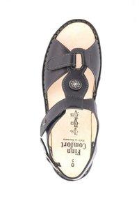 Finn Comfort - Wedge sandals - nappaseda schwarz - 3