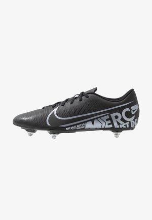 VAPOR 13 CLUB SG - Screw-in stud football boots - black/metallic cool grey/cool grey