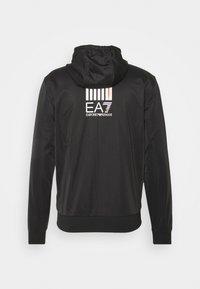 EA7 Emporio Armani - TUTA SPORTIVA - Zip-up hoodie - black - 1