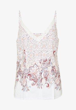 MIX & MATCH CAMISOLE - Pyjama top - white