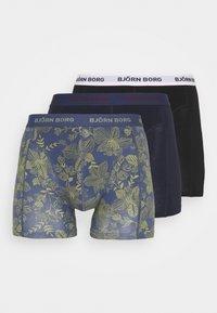 Björn Borg - SAMMY FIJI FLOWER 3 PACK - Underkläder - crown blue - 4