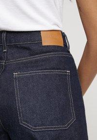 NORR - LUCAS WIDE LEG - Flared jeans - dark blue - 6