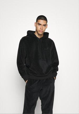 HOODED UNITED SCRIPT  - Jersey con capucha - black