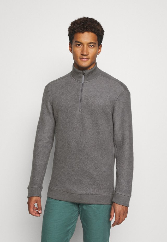 ALTO HALF ZIP - Felpa in pile - soft grey