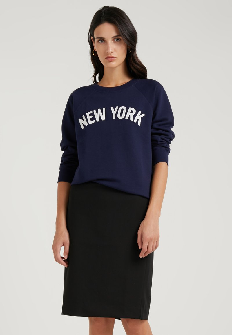 J.CREW - NEW YORK - Sweatshirt - navy