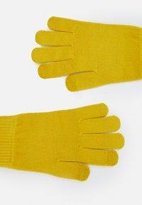 Marks & Spencer London - SOFT GLOVE - Gloves - ochre - 1