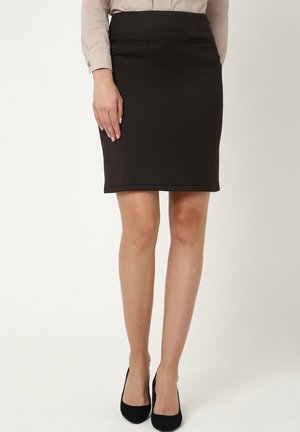 KEDRA - Pencil skirt - braun
