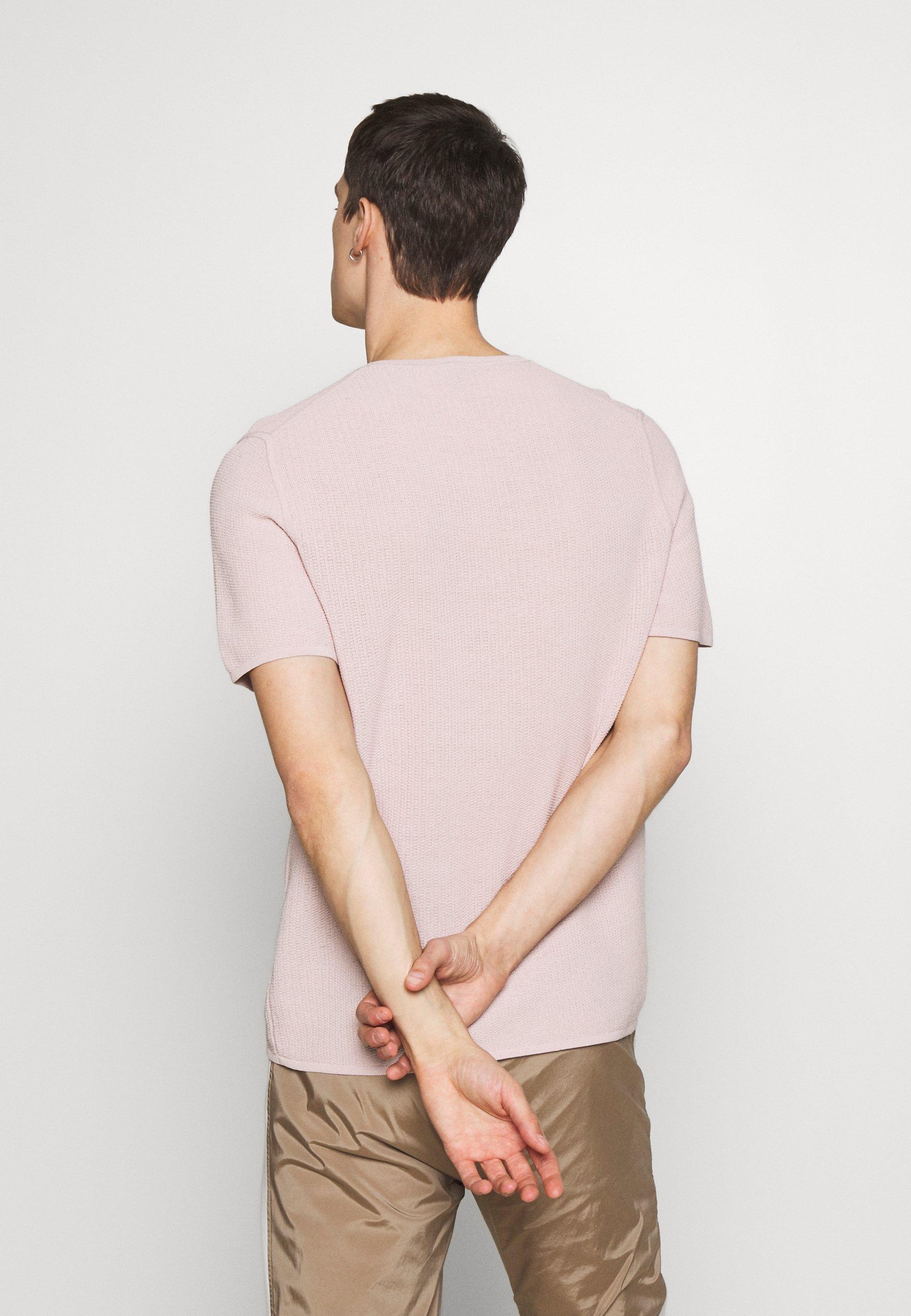 Theory TOLEDO  - T-shirt basique - pink mist