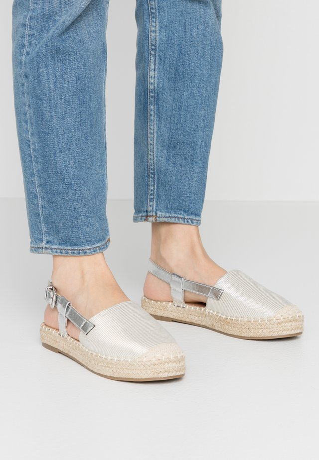 BLACKBERRY - Loafers - silver