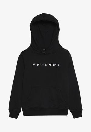 KIDS FRIENDS HOODY - Bluza z kapturem - schwarz