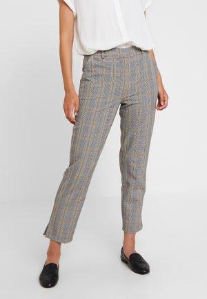 Trousers - white/black/yellow
