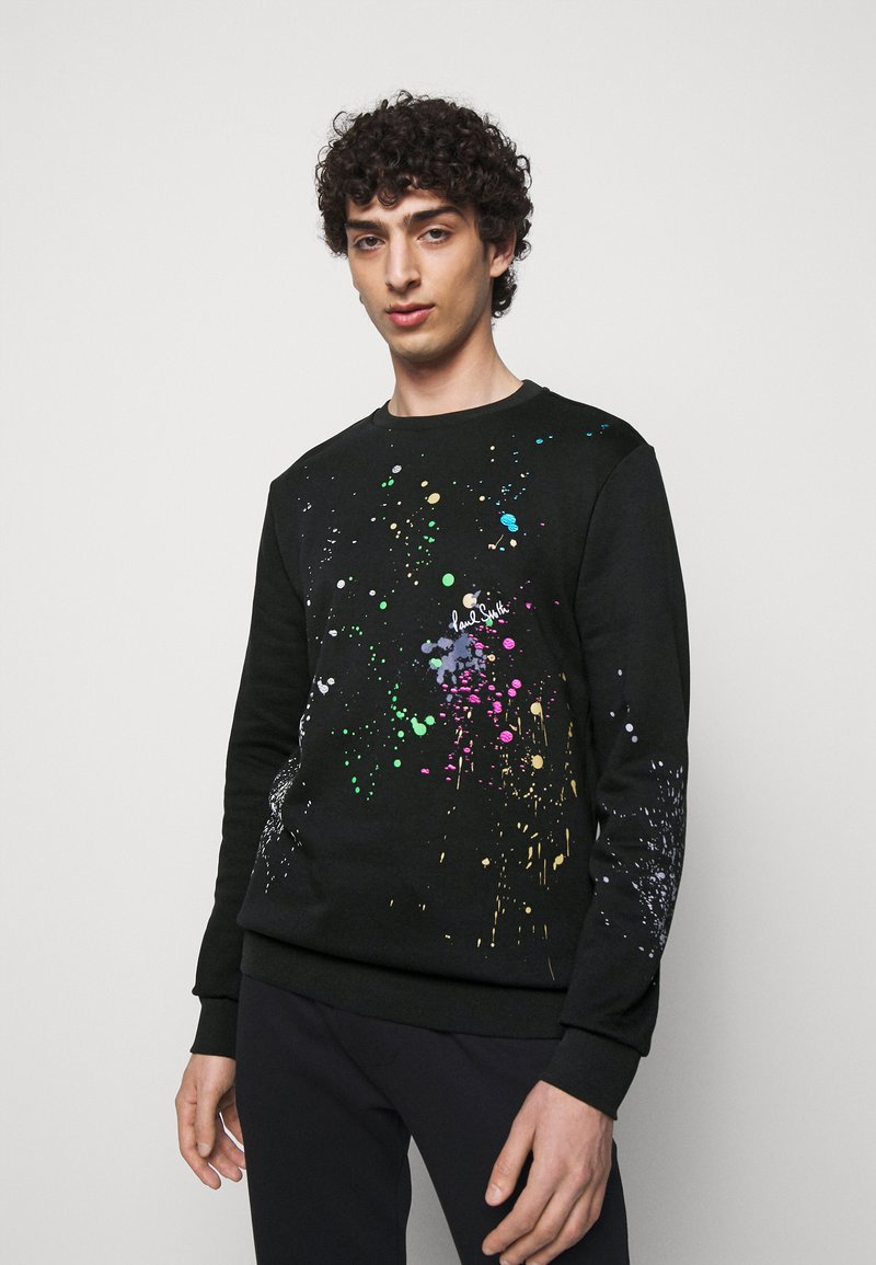 Paul Smith - GENTS PAINT SPLATTER PRINT - Sweatshirt - black