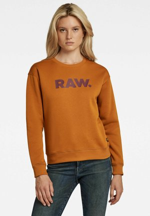 PREMIUM CORE RAW - CREWNECK  - Sweater - vulcan