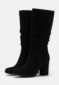 Steven New York - MELODY - Vysoká obuv - black - 2