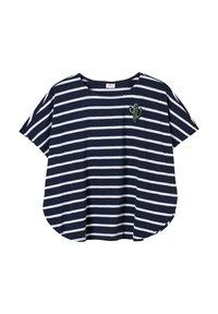 s.Oliver - Print T-shirt - dark blue stripes - 2