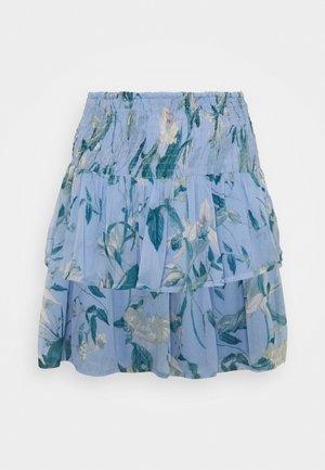 VMWONDA SMOCK SHORT SKIRT - A-line skirt - grapemist/debbie