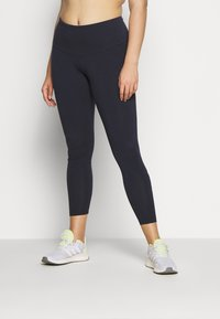 adidas Performance - ESSENTIALS TRAINING SPORTS LEGGINGS - Punčochy - dark blue/pink - 0