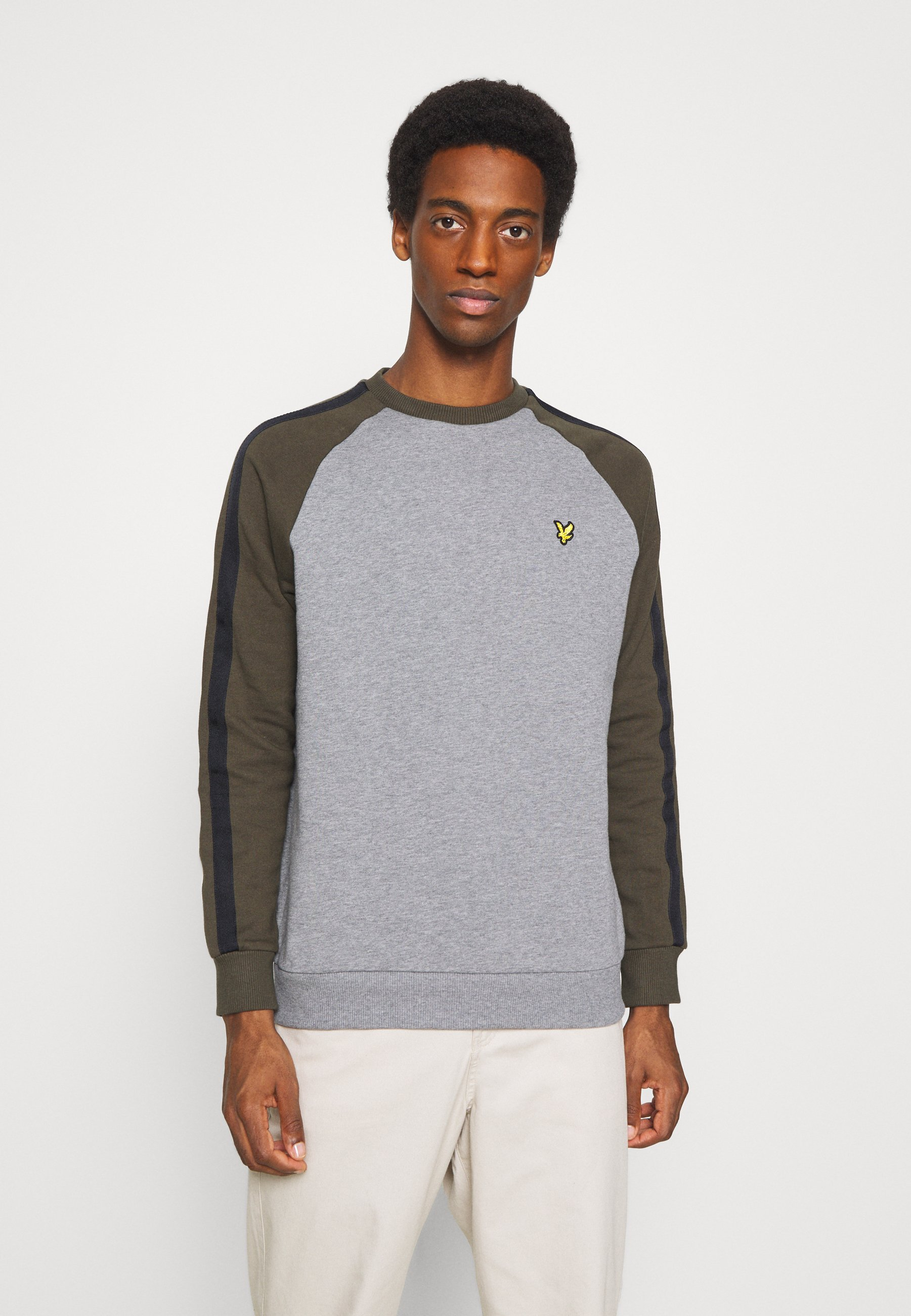 Homme COLOUR BLOCK CREW - Sweatshirt