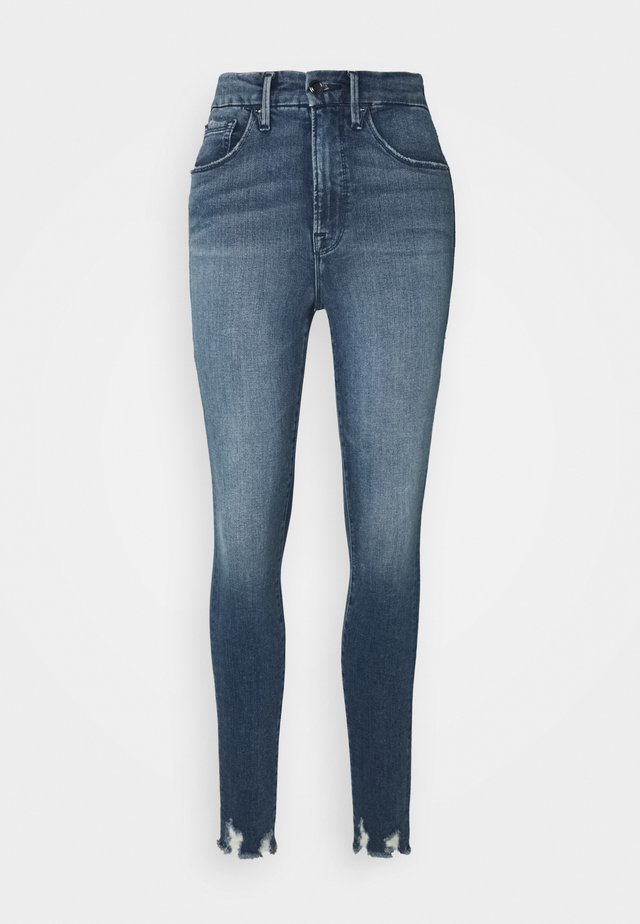 GOOD WAIST CHEWED HEM - Jeans Skinny Fit - blue