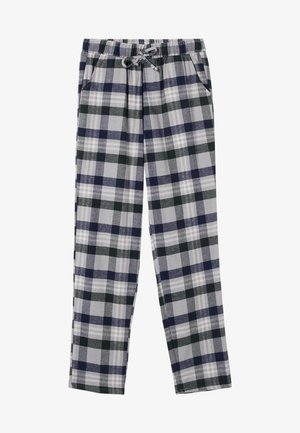 Pyjama bottoms - blau  green/blue tartan check