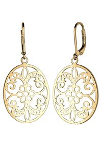 Elli - ORNAMENT FLORAL - Earrings - gold-coloured - 2
