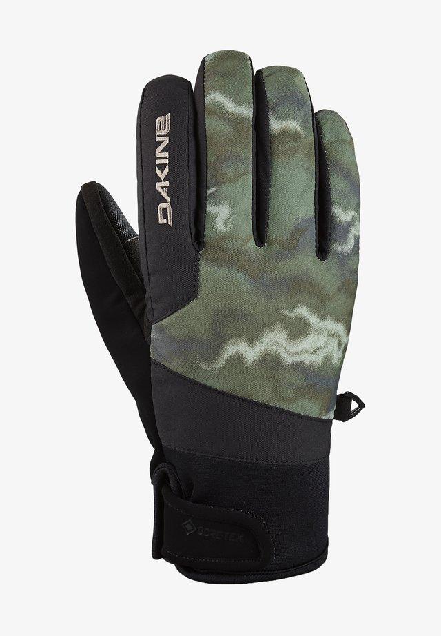 IMPREZA GORE-TEX - Gloves - olive ashcroft camo/black