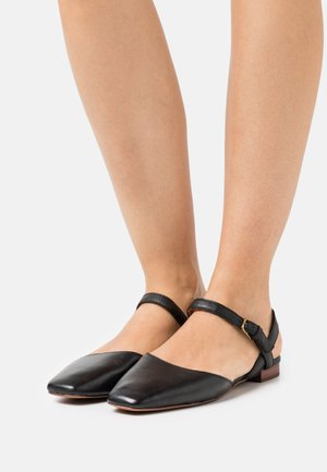 CECILIA FLAT  - Sandals - black