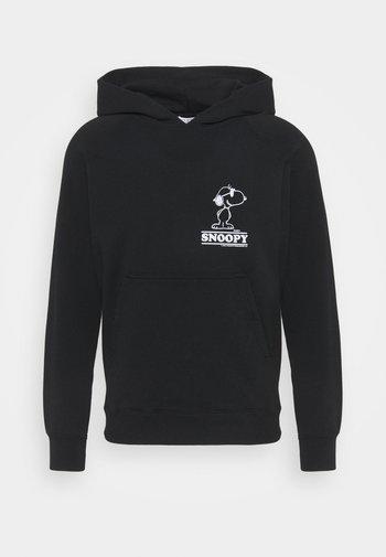 HOODIE SNOOPY COOL UNISEX - Sweatshirt - noir