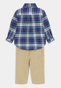 Polo Ralph Lauren - PANT SET - Pantalon classique - navy/multi - 1