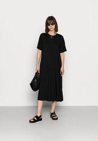 ARKET - Jerseyklänning - black - 1